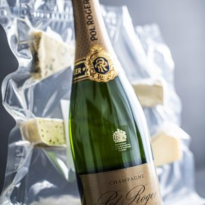 Pol Roger Rich CHampagne and Cheese Platter Deal